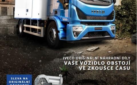 Akce na originální díly IVECO 2016 Q2